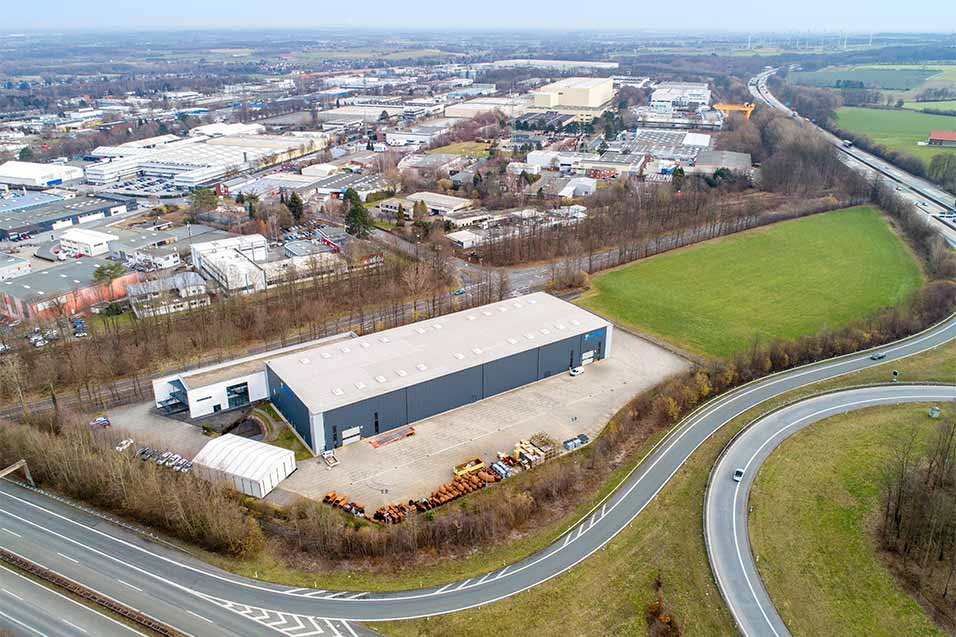 Occupying a top logistics location directly beside the motorway access road